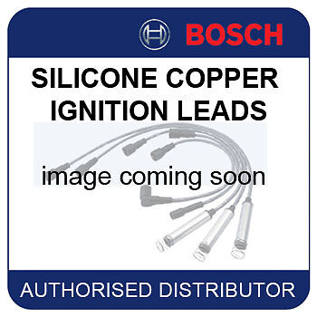 VW Golf Mk4 2.0 [1J1] 05.01-04.02 BOSCH IGNITION CABLES SPARK HT LEADS B345