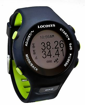 GW-60 GPS Watch, Speed and Data Logger for Surfing, Skiing and Hiking Sports