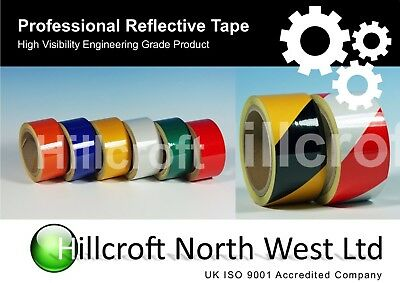 High Quality Reflective Tape Vinyl Roll Self-Adhesive waterproof various size