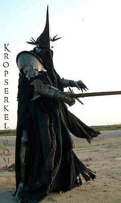 Witch King Nazgul armour prop sword LotR Lord Rings Kropserkel