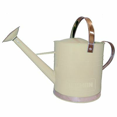 Holman WATERING CAN 9L Easy Balance & Pouring, BEIGE FINISHED