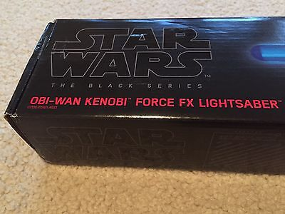 Obi-Wan Kenobi Lightsaber Hasbro Force FX Black Series Star Wars NIB New