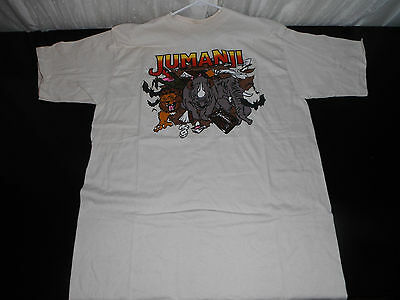 Vintage 1990S JUMANJI ROBIN WILLIAMS T-SHIRT XL