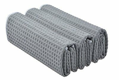 Thick Microfibre Waffle Weave Kitchen Towels Dish Drying Towels Dish Cloths