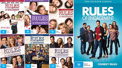 Rules Of Engagement COMPLETE COLLECTION Season 1 - 7 : NEW DVD