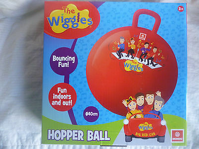 THE WIGGLES - Emma, Lachy, Anthony & Simon Hopper Ball Bouncing Ball BNIBox
