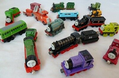 Bundle Of Thomas Take Along Take N Play Diecast Trains - Played With Condition