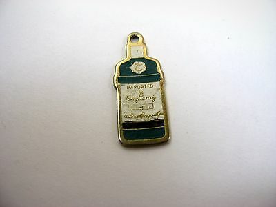 Vintage Keychain Charm: Tanqueray Gin Bottle