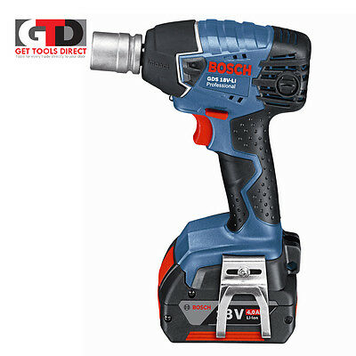 "Bosch GDS18V-LI 18v Cordless Impact Wrench 1/2"" Skin Only - 3 Year Warranty"