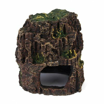 Grotte en Resine Ornement Decoration pour Aquarium D9R2