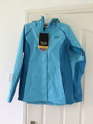 Mountain Hardware Women's Versteeg Waterproof Jacket, Blue, Size S