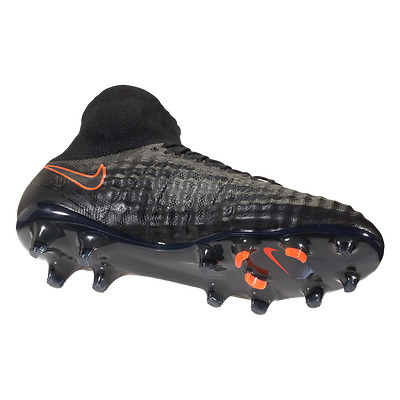 Nike Magista Obra II FG SOCCER CLEATS Black/Total Crimson size US 8