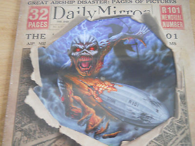 """Iron Maiden : Empire Of The Clouds 12"""" Picture Disc Single. 2016 RSD."""