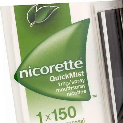Nicorette QuickMist Mouthspray 1 x 150ml Freshmint