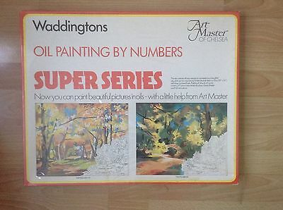 Waddingtons Painting by Numbers Super Series Brand New Sealed
