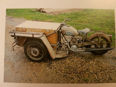 Peugeot 57TN Triporteur 125cc Running Restoration Project Barn Find French Docs
