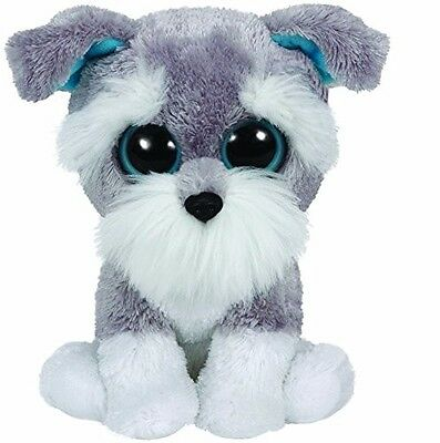 Ty Beanie Boo Schnauzer - Whiskers in Carry Case with Accessories
