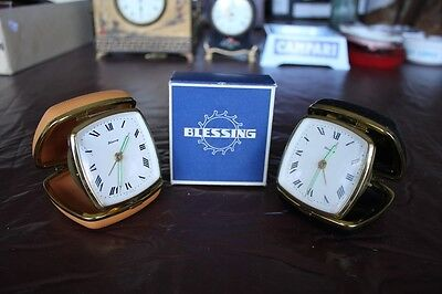 Vintage Pair Blessing Alarm Clock Boxed Germany Travel