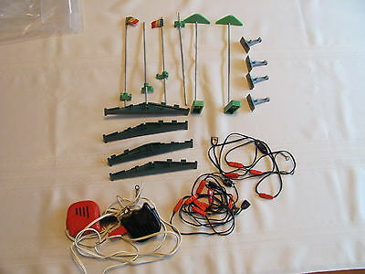 Vintage Scalextric Triang Tri-ang slot car parts lot 60's working NICE !!!