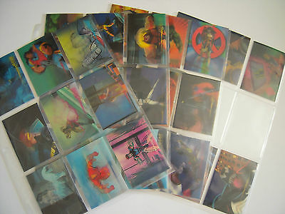 Marvel Motion Set Complet 30  Cards Animees + 1  Card Venom  1996 Tbe