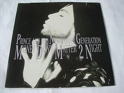 """Prince & The New Power Generation - Money Don't Matter 2 Night - Paisley Park 7"""""""