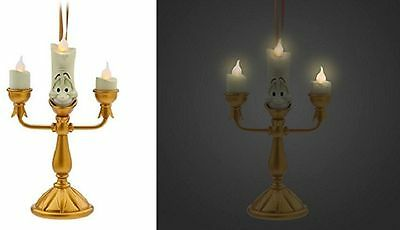 Disney Lumiere Light Up Parks Exclusive Ornament Belle, Beauty & The Beast, Bnwt