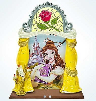 Disney Parks Belle 4 X 6 Photo Frame, Beauty & The Beast, Brand New With Label