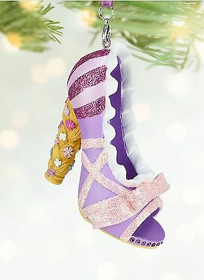 Disney Rapunzel Shoe Ornament Tree Decoration, From Tangled, Bnwt, Rare