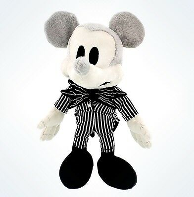Disney Parks Nightmare Before Christmas Mickey Mouse As Jack Soft Plush Doll Toy