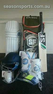 Junior Cricket kit / set size 3, 4, 5, 6. Bat, pads, helmet, gloves, &much more