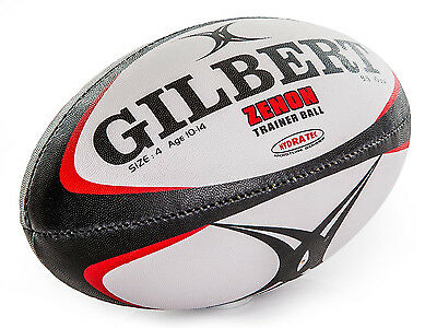 Gilbert Zenon Training Rugby Ball size 4.