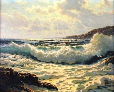 "Counted Cross Stitch Kit ""Rocky Seascape"" by Andrea's Designs"