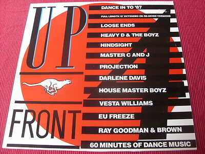 Various:  Upfront 4  UK    LP    1987  Heavy D, Loose ends, Hinsight etc  EX