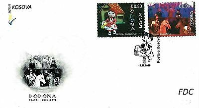 Kosovo stamps 2016. Puppet Theatre. FDC MNH.