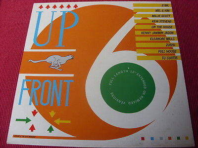 Various:  Upfront 6  The Cat's Whiskers  1987  house, soul etc  EX