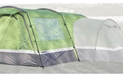 Hi Gear Zenobia 6 Porch / Awning For Tent - Emerald-Grey