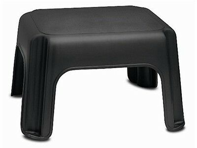 Addis Lightweight Multifunctional Step Stool with Rubber Feet in Black