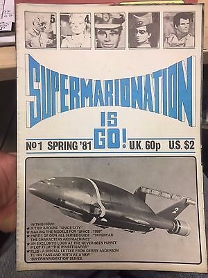 S i G  Supermarionation is Go magazine # 1 Gerry Anderson Fireball XL5