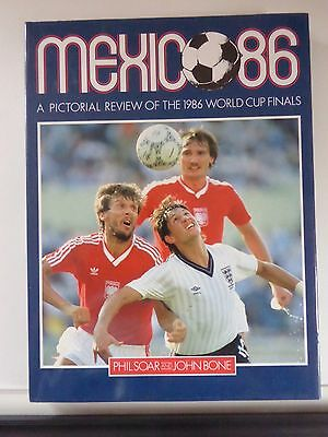 Pictorial review of MEXICO 86 world cup finals