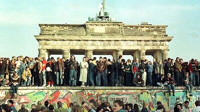Authentic Piece Berlin Wall a piece of german history with certificate COA
