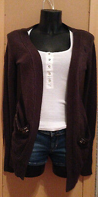 ABERCROMBIE & FITCH Maglione Cardigan Donna Woman Tg.XS CASUAL