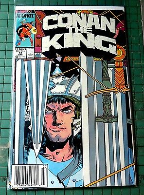 Conan the King #51 Marvel Comics Copper Age Comic CB789