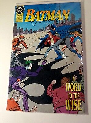 Batman Word to the Wise SP Edition DC Copper Age  CB2101