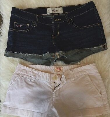 LOT OF 2 Denim Shorts Hollister/Mossino Size 3