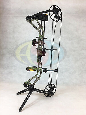 "ASD 2017 Mirage Compound Bow 15-70Lbs 19-31"" 300Fps *Camo* Ultimate Package *"