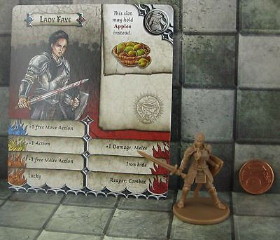 Zombicide Black Plague Promo Lady Faye not Snow White