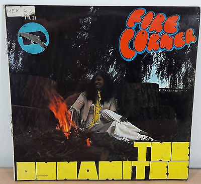 The Dynamites Fire Corner UK 1969 Vinyl LP Trojan / Clandisc TTL-21