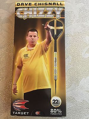 New Target Chizzy Dave Chisnall 22G Tungsten Darts Set
