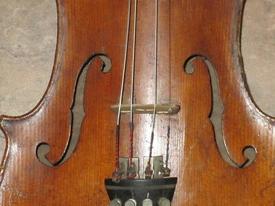 Very old labelled Vintage violin Geige 4/4 by HOPF