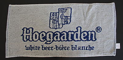 Hoegaarden Beer 2-Sided Bar Pub Small Cotton Towel NEW